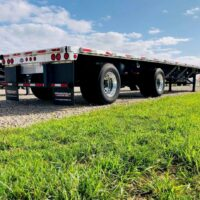 2013 Utility Flatbed Trailer - 48 Feet long